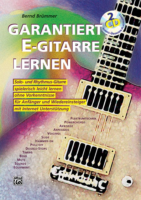 Garantiert E-Gitarre lernen (Buch / 2 CDs)