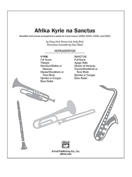 Afrika Kyrie na Sanctus SoundPax