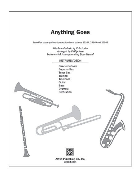 Anything Goes (Anything Goes) SoundPax