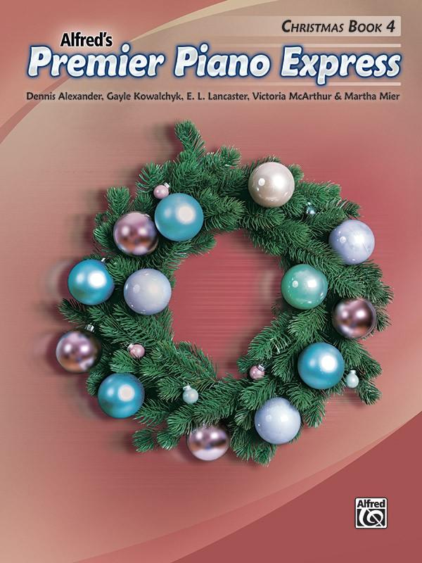 Premier Piano Express: Christmas, Book 4