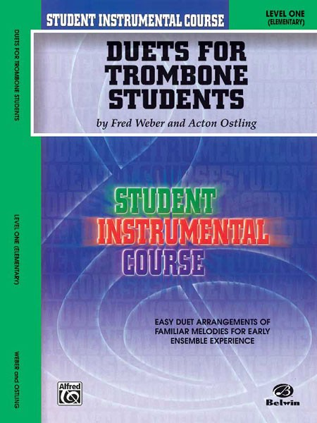 Student Instrumental Course: Duets for Trombone Students, Level I
