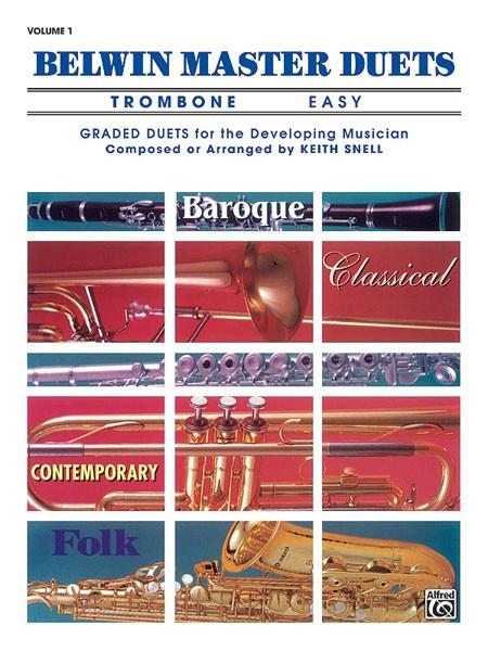Belwin Master Duets (Trombone), Easy Volume 1