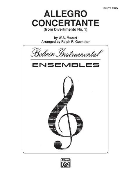Allegro Concertante (from Divertimo No. 1)