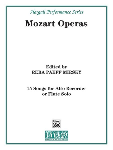 15 Songs from the Operas of Mozart