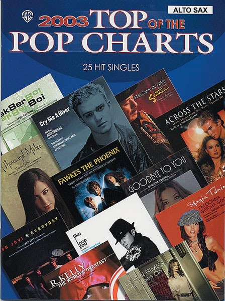 2003 Top of the Pop Charts: 25 Hit Singles