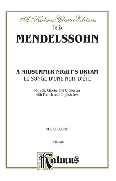 A Midsummer Night's Dream (Le Songe d'une Nuit d'été), Opus 61