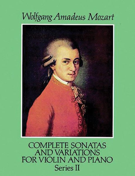 Complete Sonatas and Variations for Violin and Piano, Series II