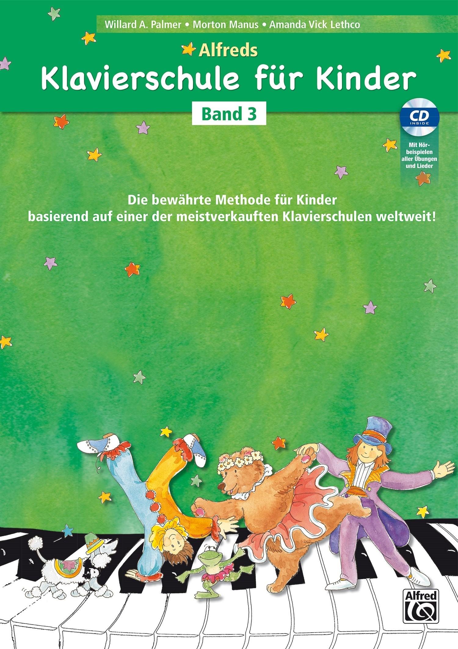 Alfred's Klavierschule für Kinder - Band 3