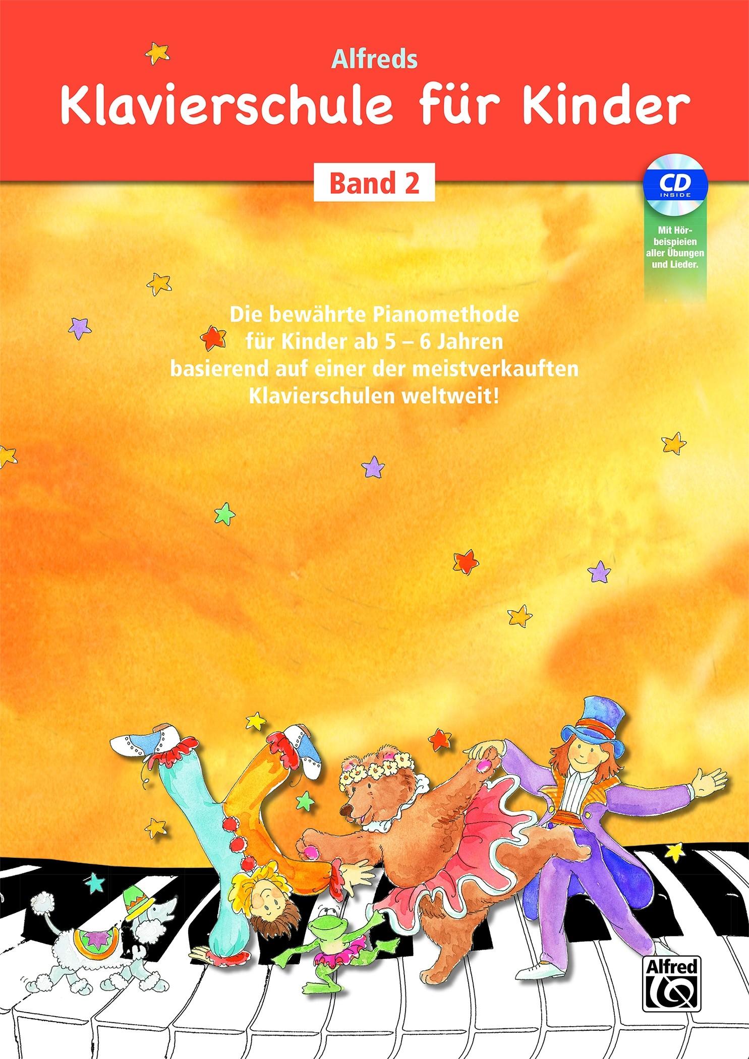 Alfred's Klavierschule für Kinder - Band 2