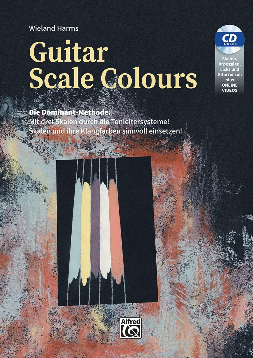 Guitar Scale Colours BK/CD