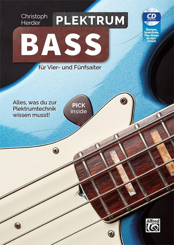 Plektrum Bass (Bk/CD)