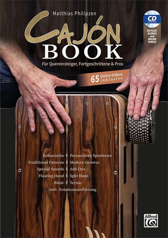 Matthias Philipzen Cajon Book (Bk&CD&On)