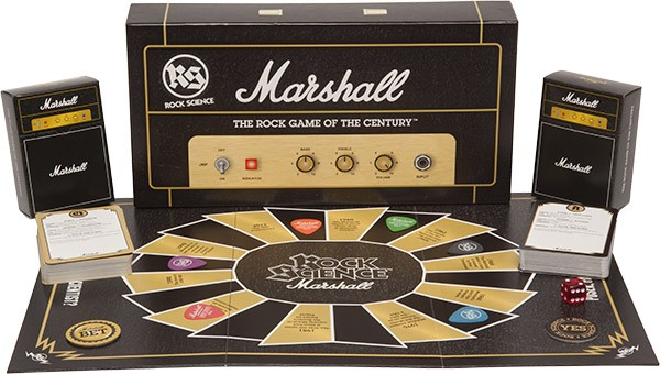 Rock Science Marshall Game