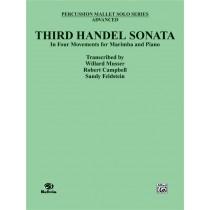 Third Handel Sonata for Marimba and Piano