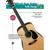 Alfred's Basic Guitar Folk Songs 1 & 2