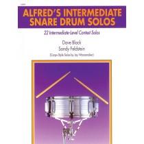 Alfred's Intermediate Snare Drum Solos