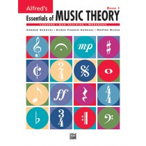 Alfred's Essentials of Music Theory: Book 1