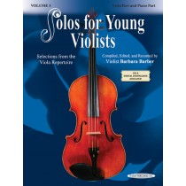 Solos for Young Violists Viola Part and Piano Acc., Volume 5