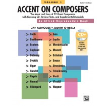 Accent on Composers, Volume 1