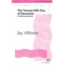 25TH DAY OF DECEMBER, THE/SATB