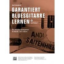 Garantiert Bluesgitarre Lernen Bk/CD