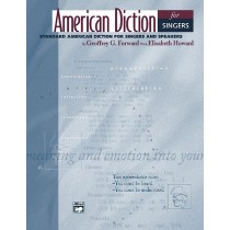 American Diction for Singers