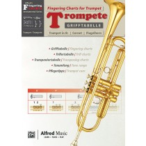 Grifftabelle Trompete | Fingering Charts Trumpet
