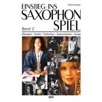 Einstieg ins Saxophonspiel Band 2
