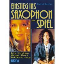 Einstieg ins Saxophonspiel Band 1