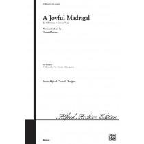 A Joyful Madrigal - SSA