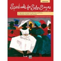 Spirituals for Solo Singers, Volume 2