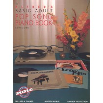 Alfred's Basic Adult Piano Course: Pop Song Book 1