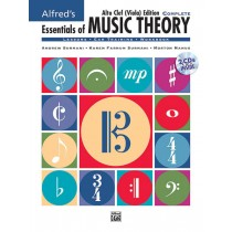 Alfred's Essentials of Music Theory: Complete Alto Clef (Viola) Edition
