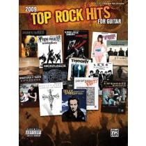 2009 Top Rock Hits for Guitar