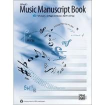 Alfred's Music Manuscript Book, 10-Stave