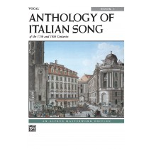 Anthology of Italian Songs of the 17th and 18th Centuries, Book 1