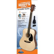 The Complete Idiot's Guide to Learning Guitar Acoustic Guitar Complete Pack