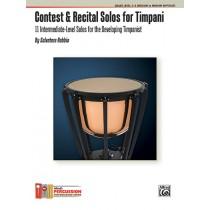 Contest & Recital Solos for Timpani