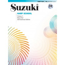 Suzuki Harp School Harp Part & CD, Volume 5