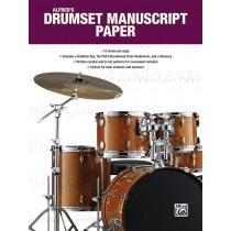 Alfred's Drumset Manuscript Paper