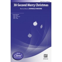 30 Second Merry Christmas SSA A Cap