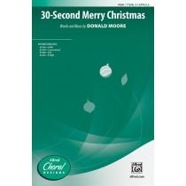 30 Second Merry Christmas TTB(B) A Cap