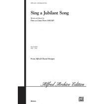 SING A JUBILANT SONG/3PT-PERRY