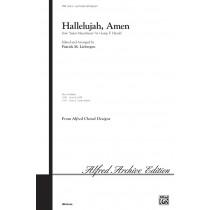 HALLELUJAH, AMEN/3 PT-LIEBERGE