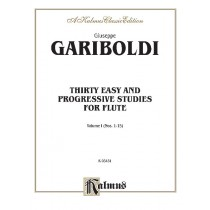 Thirty Easy and Progressive Studies, Volume I (Nos. 1-15)