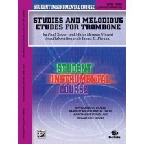 Student Instrumental Course: Studies and Melodious Etudes for Trombone, Level III