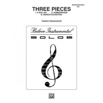 Three Pieces (Ballad, Humoresque, March Eccentric)