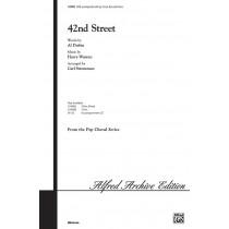 42nd Street (satb)