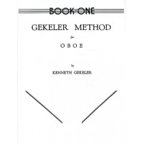 Gekeler Method for Oboe, Book I