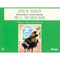 John W. Schaum Piano Course, Pre-A: The Green Book